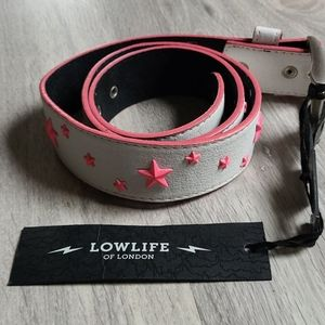 Lowlife Star Studded Belt
